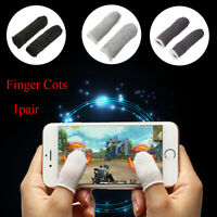 1 Pair Breathable Finger Sleeve Mobile Game Joystick Controller Accessories
