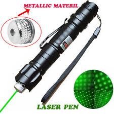 Military 10Miles 532nm Green Laser Pointer Pen Power Visible Burn Light Lazer MT