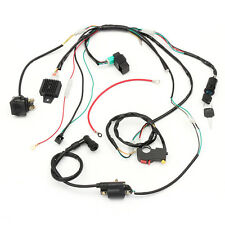 Quad Wire Harness Loom Solenoid Coil For CDI 50cc 110cc 125cc PIT Quad Bike ATV