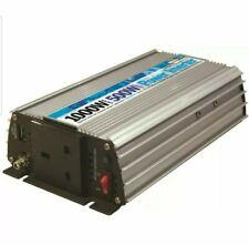 STREETWIZE 500W/1000W DC / AC POWER INVERTER CARAVANS MOTORHOMES CAMPING BOATS