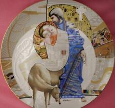 MARY AND JESUS PLATE EVE LICEA BIBLICAL MOTHERS EDWIN KNOWLES BOXED