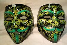 Anonymous CUSTOM V VENDETTA MASK Guy Fawkes protest hack Mask MASKS We are Legi