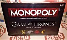 """Monopoly da Collezione """"Il Trono di Spade"""" [Nuovo] Italiano!"""