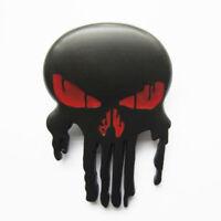 Black Skull Metal Belt Buckle Punisher