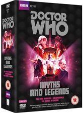 DR WHO 064 096 108 - MYTHS + LEGENDS - Doctors Jon Pertwee + Tom Baker - NEW DVD