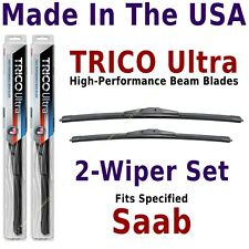 Buy American: TRICO Ultra 2-Wiper Blade Set fits listed Saab: 13-26-17