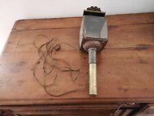 ancienne lanterne fiacre calèche électrifiée