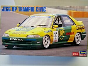 Hasegawa 1:24 Scale JTCC BP Trampio Honda Civic Model Kit # 20347 Ltd. Edition