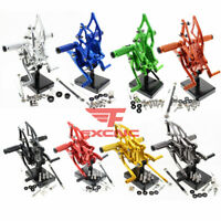 For Yamaha YZF R25 R3 2014-2019 MT-25 2015-2017 Rearset Footrest Footpegs Pedals