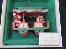 Hallmark Keepsake Ornament - Jolly Trolly #4 in series 1982