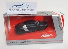 "Audi R8 ""Concept negro"" negro coche modelo 1 64 / Schuco"