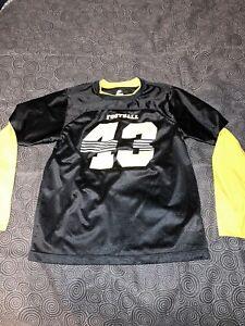 Youth Nike Football Pittsburgh Steelers Troy Polamalu Long Sleeve Shirt Size XL