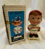 VINTAGE 1960s MLB BOSTON RED SOX BASEBALL BOBBLEHEAD NODDER BOBBLE HEAD