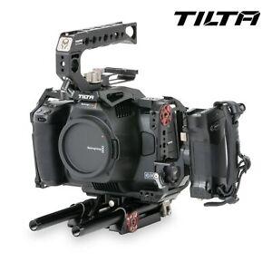 TILTA BlackMagic BMPCC 6K PRO Camera Cage TA-T11-A-B Dslr Rig Baseplate 15mm