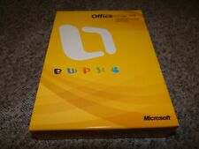 Microsoft Office for Mac 2008 Home and Student Edition w/ 3 User Keys GZA-00006