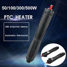 50/100/300/500W PTC Submersible Aquarium Fish Tank Thermal Heater Thermosta