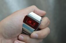 $ VTG Russian Soviet !!! WATCH PULSAR ELEKTRONIKA 1 FIRST RED DIGITAL LED QUARTZ