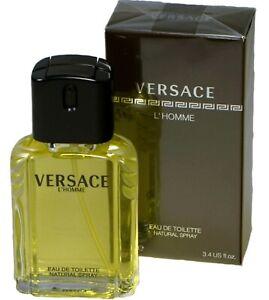 Versace L´Homme Eau de Toilette 100 ml Herren Parfum Perfume for him