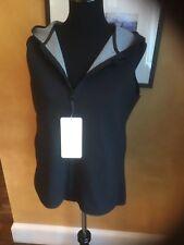 Lululemon Insculpt Vest Black Heathered Gray Reversible 10 $98 NWT