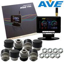 AVE Truck TPMS TLCD 8 External Sensors + Antenna Get Free LF w LCD Display DIY