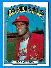 1972 Topps BOB GIBSON (ex-) St. Louis Cardinals (A)