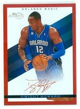 2008-09 TOPPS SIGNATURE (BKB) Dwight Howard SP RED FOIL CARD #TS-DH #'ed 146/869