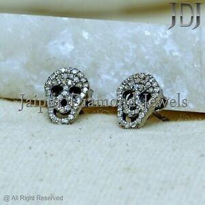 Skull Stud Gift For Her Sugar Skull Earrings Skull Earrings Gothic Bride Jewelry Rock N Roll Bride Earrings Halloween Jewelry