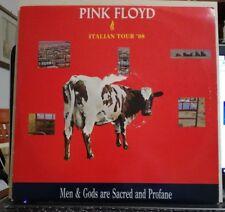P.F. - ITALIAN TOUR '88 - MEN & GODS ARE SACRED AND PROFANE - 3 VINILE LP 33 GIR