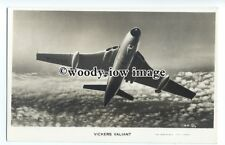 ac0156 - Aircraft - Vickers Valiant - postcard