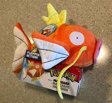"New Pokemon Magikarp 10"" Flopping Action Plush NIB Wicked Ccool Toys"