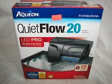 NEW  Aqueon Quiet Flow 20 Power Filter 125GPH includes filter Never Used L@@K!!!