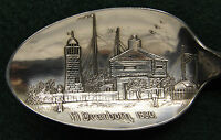Sterling Souvenir Spoon Chicago, IL Fort Dearborn 1830, 1900