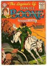 Legends of Daniel Boone  3    SCARCE  1956 DC Comic   Nic Cardy Cover