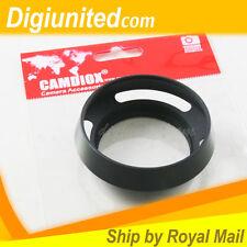 Camdiox 43mm 43 mm Metal Vented Lens Hood for Leica M Leitz Olympus Panasonic