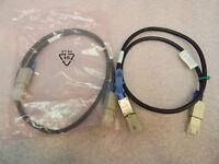 (2) NEW HP External Mini-SAS 407344-002 1-Meter Cable (408766-001)