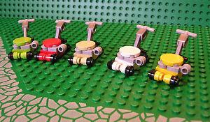LEGO Lawnmower as set 5891 Choose Mower Colour - Lawn Garden Grass Cutter NEW