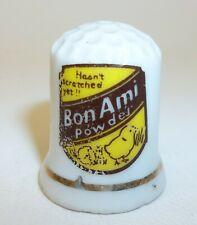 Bon Ami Powder Advertising Sewing Thimble