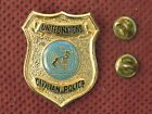 UNITED NATIONS - UNITED NATIONS CIVILIAN POLICE BREAST BADGE - RRR