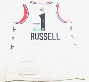 D'Angelo Russell signed jersey PSA/DNA Brooklyn Nets Autographed Timberwolves