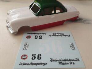 1/43 decals ONLY- FORD TUDOR- I Carrera Panamericana 50- Nº 56