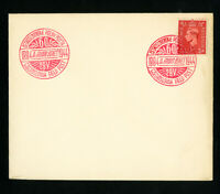 Czechoslovakia 1944 Field Post Cover Special Cancel Tying Great Britain Stamp