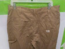 Timberland Carpenter Khaki Pants Light Brown Flat Front Mens 36 X 30