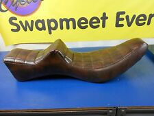 NEW BROWN 2 UP SEAT HARLEY DAVIDSON XLH XLCH SPORTSTER 1972-1978