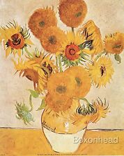 "10"" x 8"" Painting Sunflowers by Vincent van Gogh - Quality Art Print"