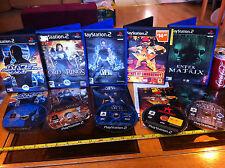 MATRIX dello stato di emergenza TOMB RAIDER LOTR 007 PS2 Playstation 2 Gioco Bundle