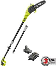 Ryobi Cordless Pole Saw ONE+ 18V Adjustable Angled Head Battery/Charger Included