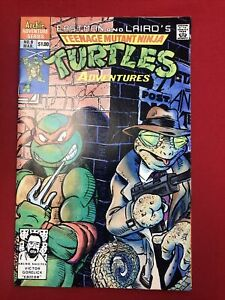 teenage mutant ninja turtles no.9 march. 1990 archie adventure series comics