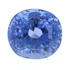 Loose Color Change Sapphire - Oval Cut 5.13ct GIA Blue to Violet Solitaire