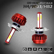 H4 9003 HB2 LED Headlight Conversion Kit Bulbs 80W 6000K 8000LM Lamps Hi/Lo Beam