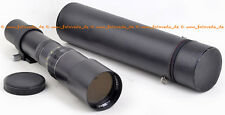 400mm 1:6,3 AIZER Made in Japan M42 lens FAST WIE NEU TOP CLEAN condition A- !!!